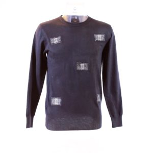 Pull homme pagne tisse